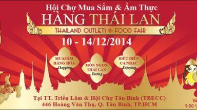 Hội chợ hàng Thái 2014