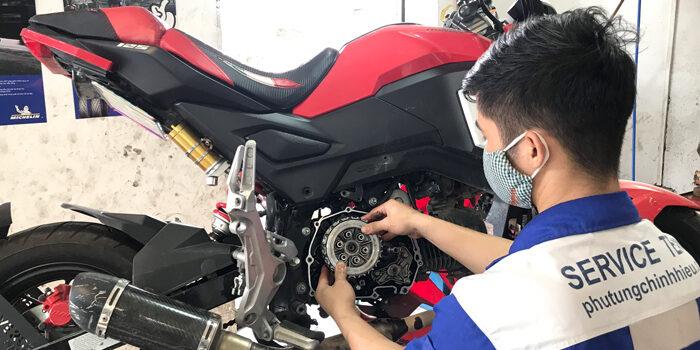 Phục hồi động cơ xe máy
